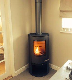 Corner-stove
