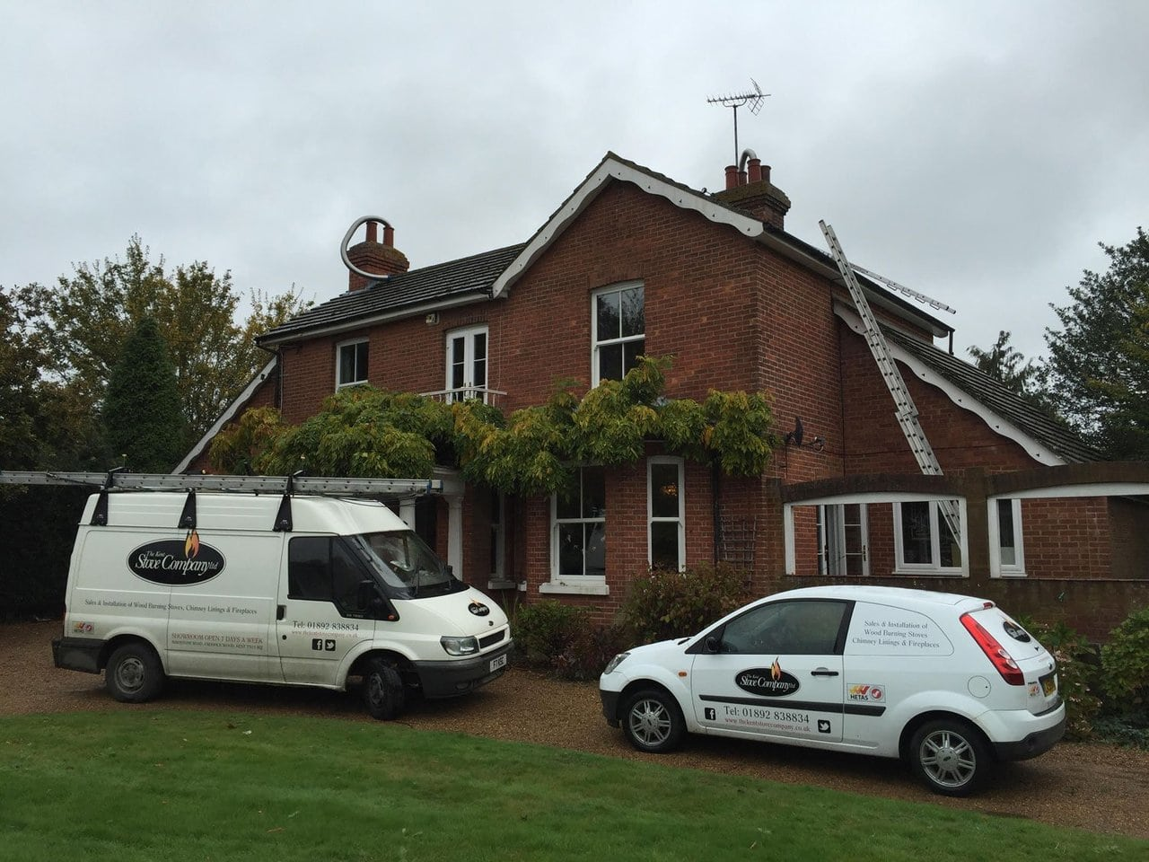 Stove Fireplace Amp Chimney Installation The Kent Stove