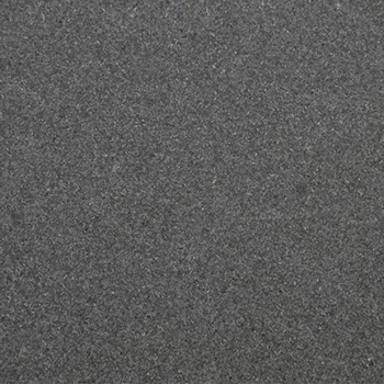 Honed Granite. Very hard wearing, almost matt black
