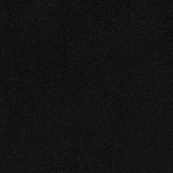Polished Black Granite. Hard wearing, shiny finish, black