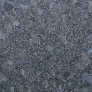 Steel Grey Leathered. A lighter coloured hard wearing Granite with a textured finish