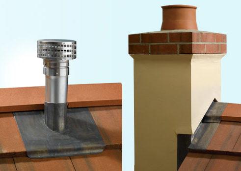 Gas chimneys & Flues