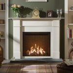 Gas. Fireplace Mantel style