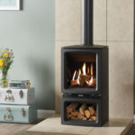 Gas, Free standing modern stove