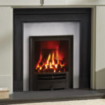 Gas Fire. Glass fronted. Logic HE